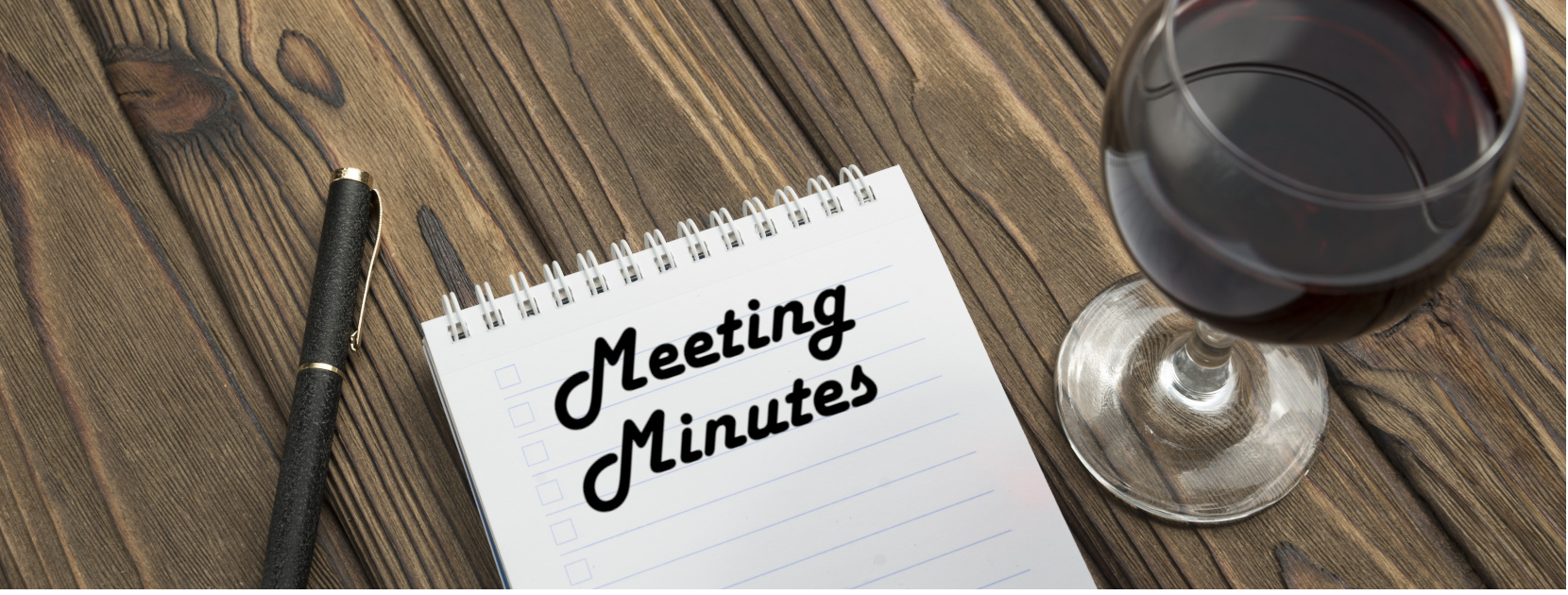 Meeting Minutes Banner