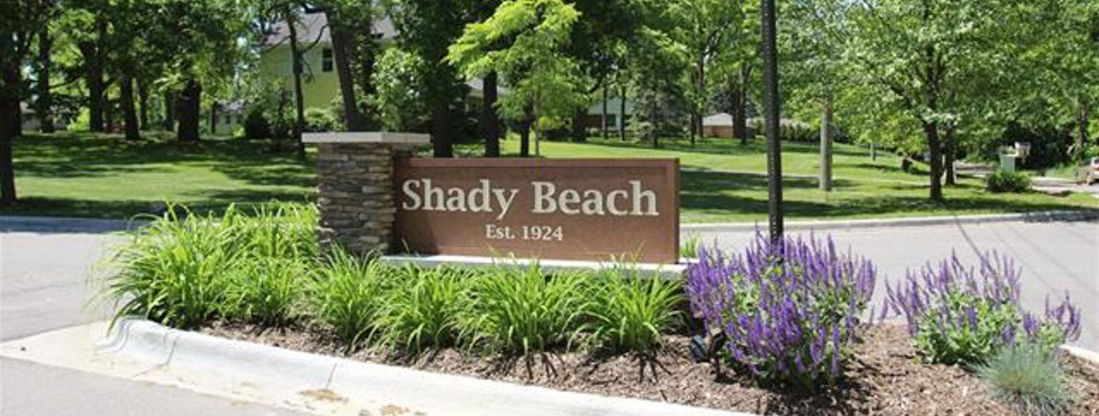 Shady Beach entrance